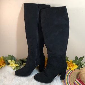 Madden Girl Shoes - Madden Girl Tall Suede Klash Boots 9